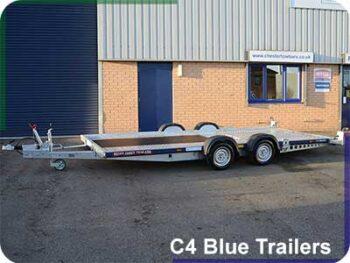 C4 Blue Trailers